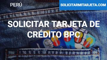 Solicitar Tarjeta de crédito BCP
