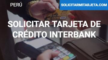 Solicitar Tarjeta de crédito Interbank