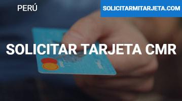 Solicitar tarjeta CMR